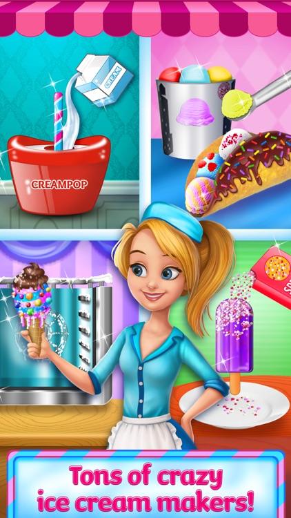 Ice Cream Truck Girl - Frozen Sweets Maker screenshot-4