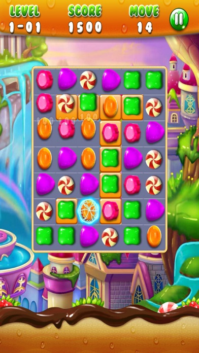 Candy Puzzle Mania Frenzzy - Candy Match 3 Edition screenshot one