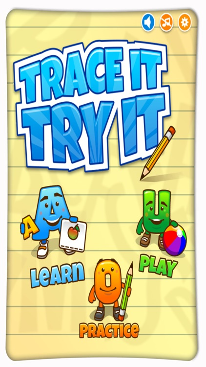 Trace it, Try it - Handwriting Exercises for Kids screenshot-0