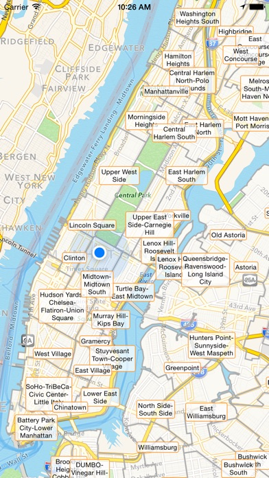 NYC Tourist Map - Travel Map for New York City - AppRecs