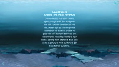 Aqua Dragons Jurassic Time Travel Adventure Interactive Book screenshot two