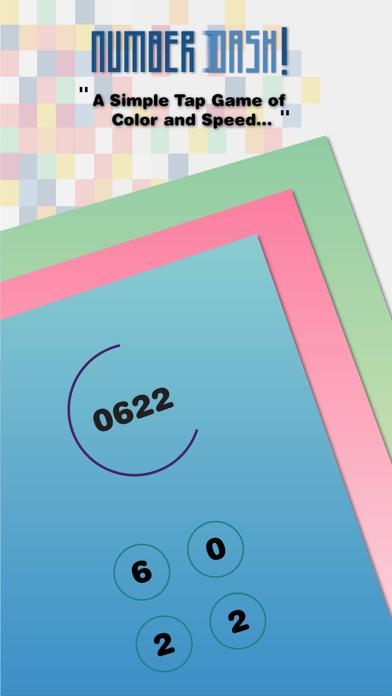 Number Dash! 數字沖刺!- 鍛煉記憶力反應力手腦協調能力的簡單數字遊戲屏幕截圖1