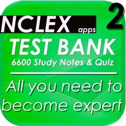NCLEX Test Bank 6600 Study Notes & Exam Quiz