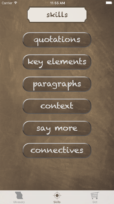 English Literature Success screenshot three