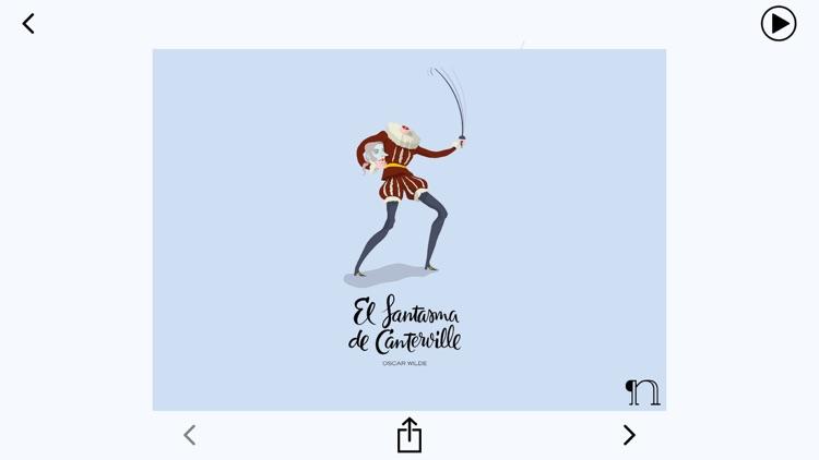 El fantasma de Canterville - audiolibro - español : castellano