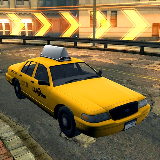 3D Taxi Racing NYC - Real Crazy City Car Driving Simulator Game FREE Version