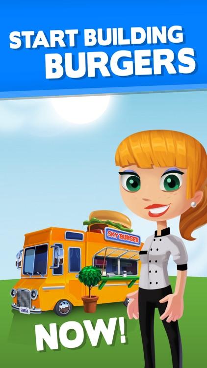 Sky Burger - Build & Match Food Free screenshot-4