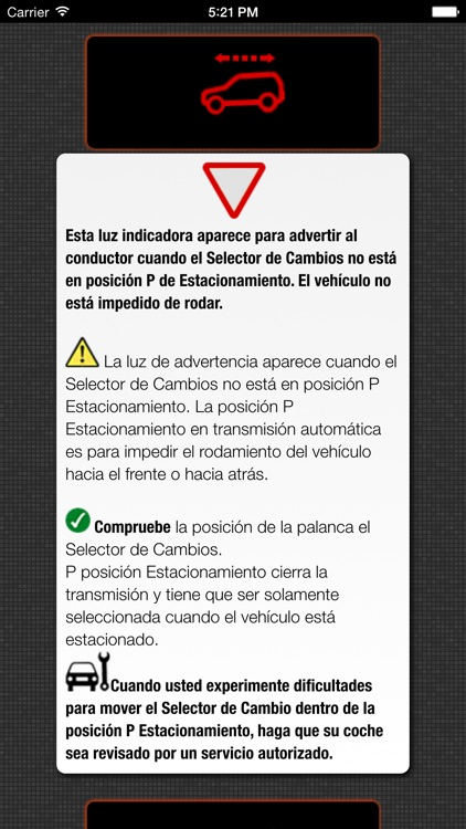 App para Mini Cooper luces de advertencia y problemas de Mini Coopers screenshot-3