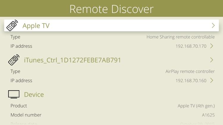 Remote Discover