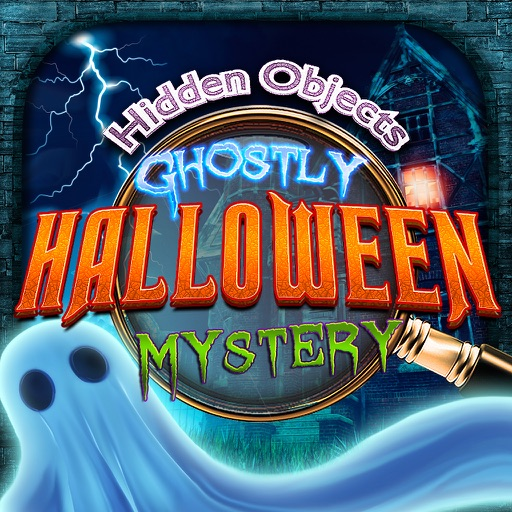 Ghostly Haunted Halloween Mystery - Hidden Object Spot and Find Objects Differences