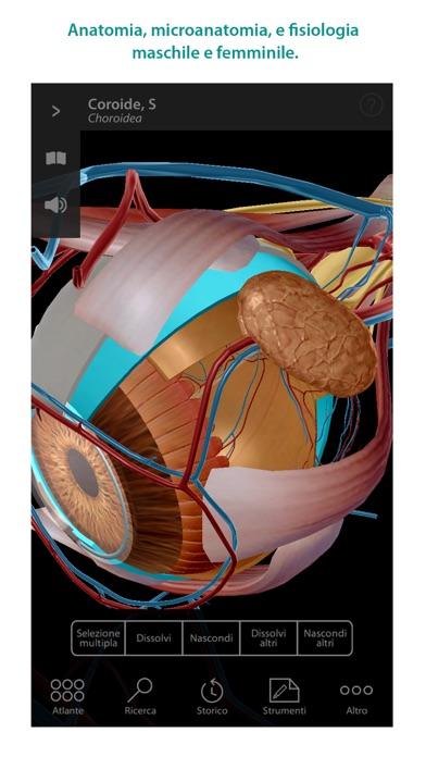 Screenshot for Atlante di anatomia umana in Italy App Store