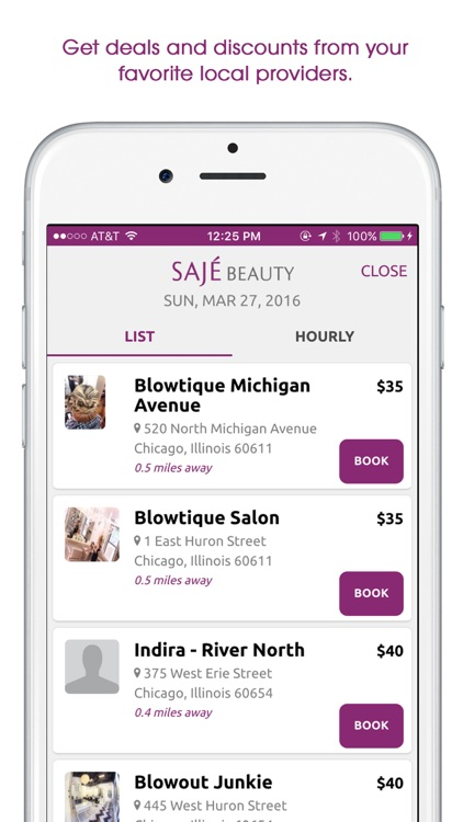 Sajé Beauty - On-demand health and beauty services screenshot-4