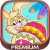 颜色复活节彩蛋兔子油漆着色游戏的孩子 - 高级