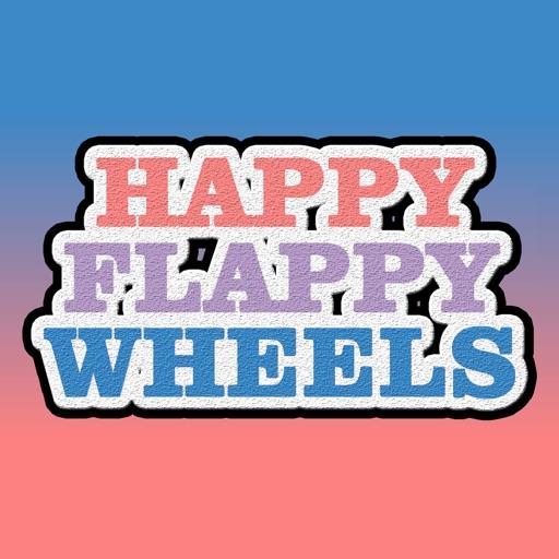 Happy Flappy Wheels: Revenge Of The Bird Pipes iOS App
