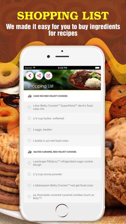 2000+ Cookie Recipes screenshot-4