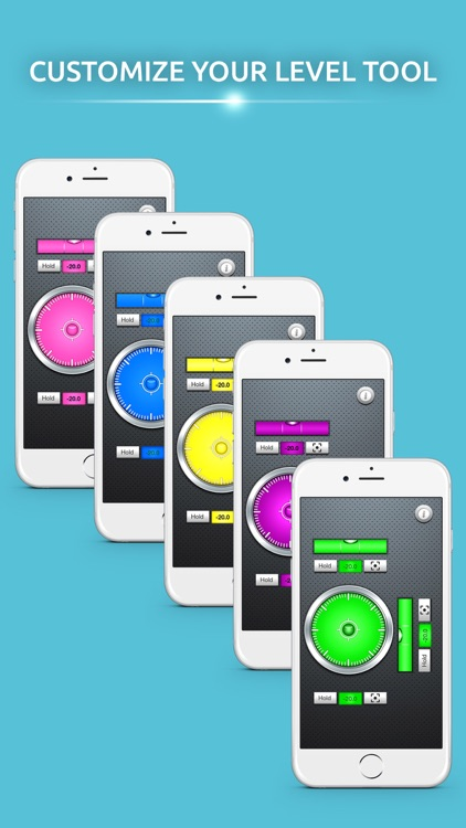 Level Tool Advanced - Bubble Level for iPhone
