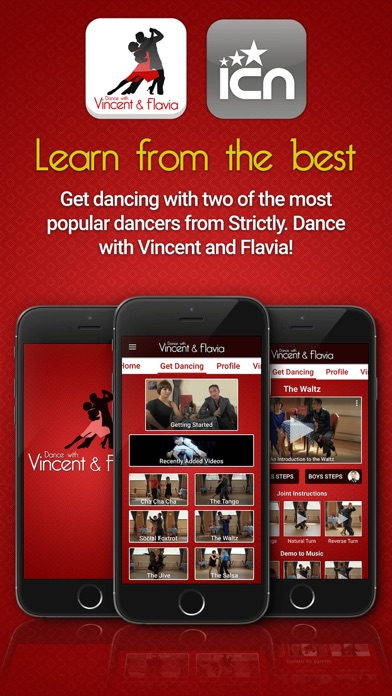 Dance with Vincent & Flavia screenshot