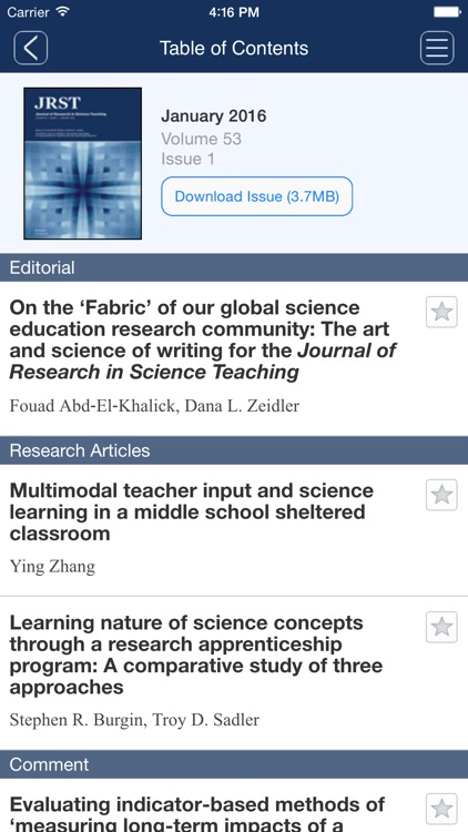 Journal of Research in Science Teaching screenshot-4