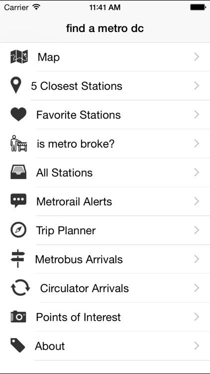 find a metro dc screenshot-3