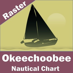 Lake Okeechoobee (Florida)  - Raster Nautical Charts