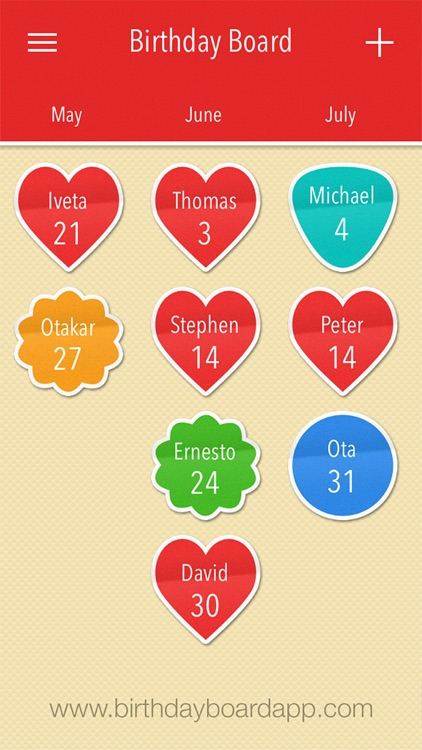 Birthday Board – Anniversary calendar, events, reminder and countdown screenshot-4
