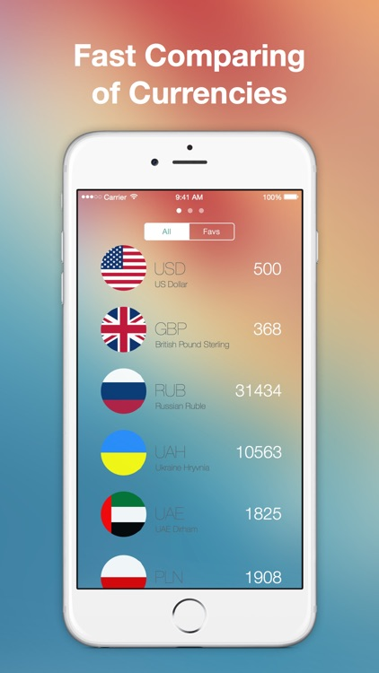 Simple Currency Converter - easily convert foreign currencies with historical exchange rates and work offline using yahoo screenshot-3