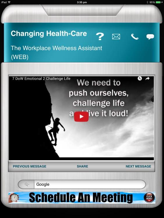 Workplace Wellness HD screenshot-3