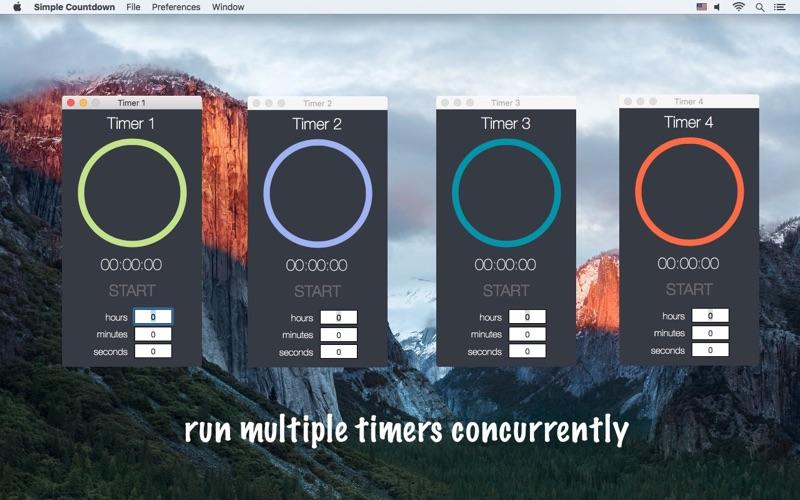 Simple Countdown - a simple countdown timer скриншот программы 1