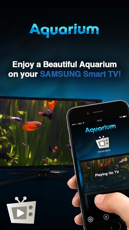Aquarium for Samsung Smart TVs