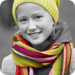 Photo Color Splash Effects - Selective Recolor on black & white picture!