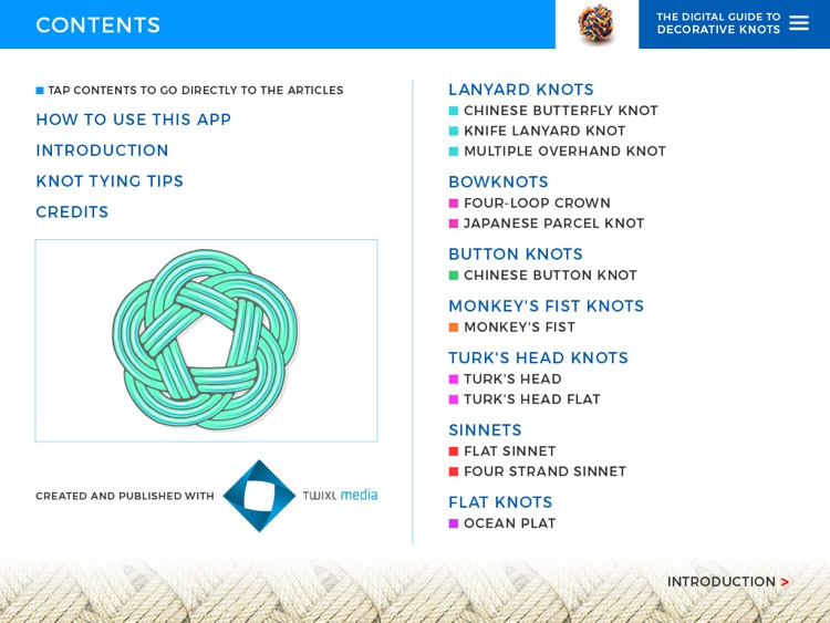 The Digital Guide to Decorative Knots