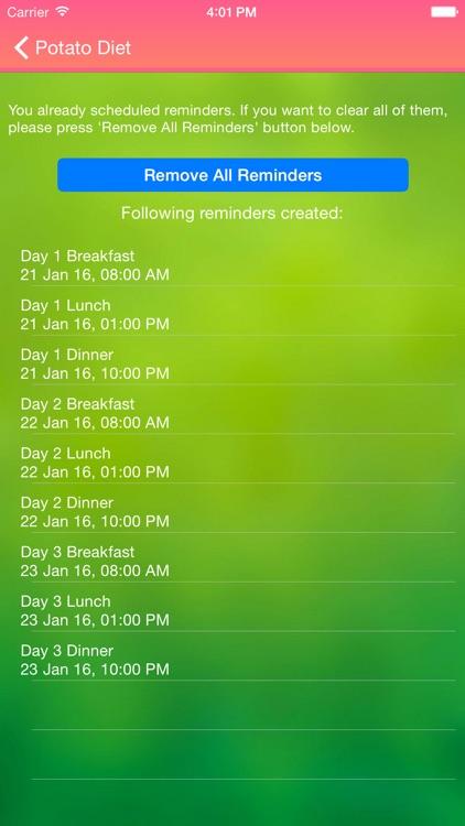 Potato Diet For Weight Loss And Detox screenshot-3