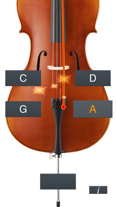 Cello Tuner Simple review screenshots