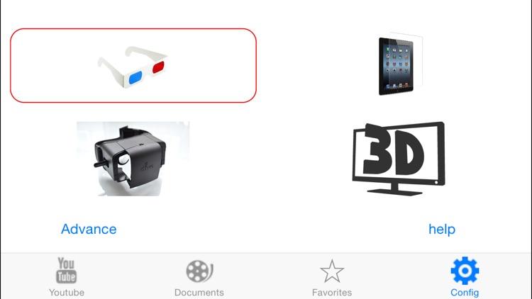 3DTube - Youtube 3D video player screenshot-4