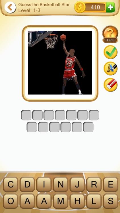 Guess the Basketball Star (Basketball Player Quiz) screenshot-3