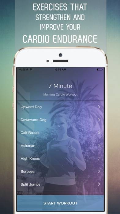 download 7 Minute Morning Cardio Workout for Burning Fat All Day apps 2
