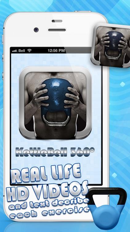 KettleBell Workout 360° PRO HD - Dumbbell Exercises Cross Trainer screenshot-4