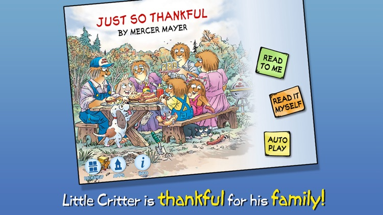 Just So Thankful - Little Critter