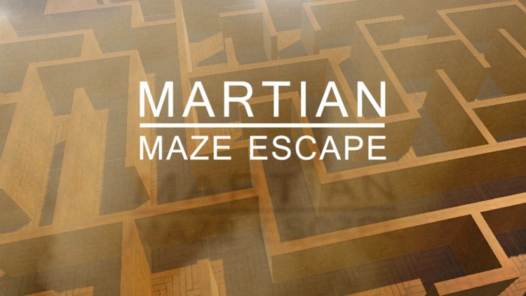 Martian Maze Escape screenshot-0