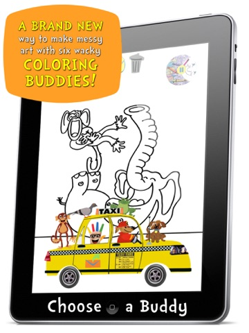 Music for Aardvarks Coloring Jukebox-ipad-2