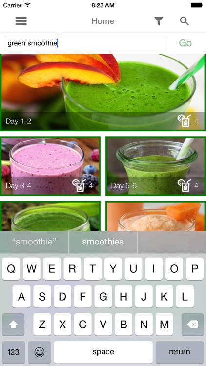 2 Week Raw Smoothie Challenge screenshot-4