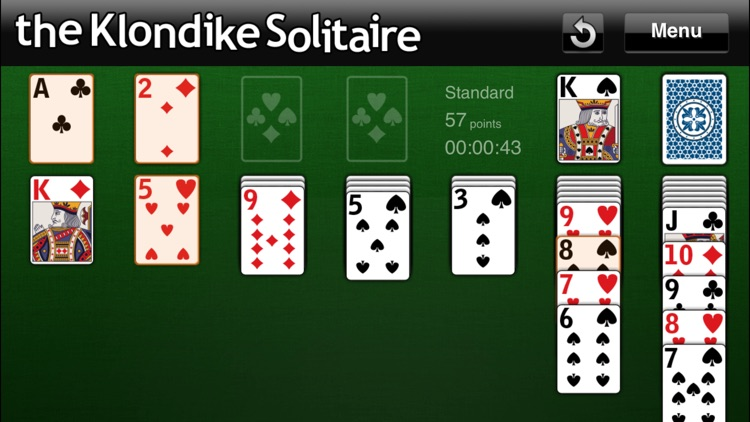 The Klondike Solitaire screenshot-4