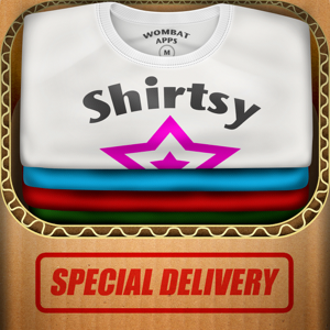 Shirtsy - Design and mail a custom shirt & clothing app