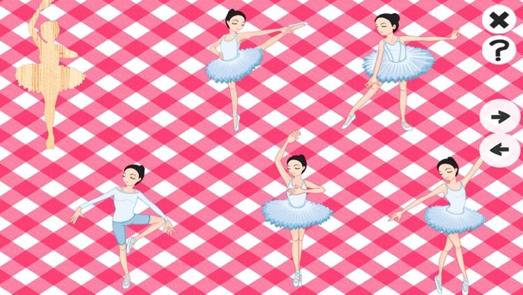 A Ballet Game for Girls: Learn like a ballerina for kindergarten or pre-school screenshot-3