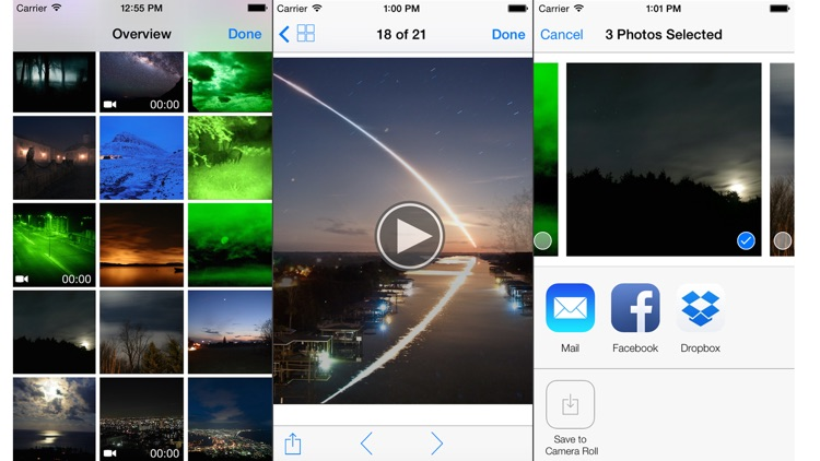 "Night Vision"" (Photos and Videos in low light) screenshot-4"