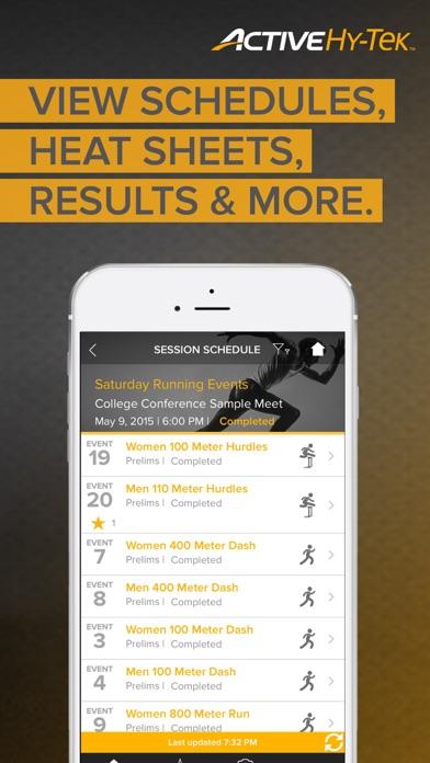 Track & Field Meet Mobile app image