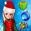 圣诞老人游戏和拼图 - 击压美味的糖果使其收集宝石的圣诞礼物
