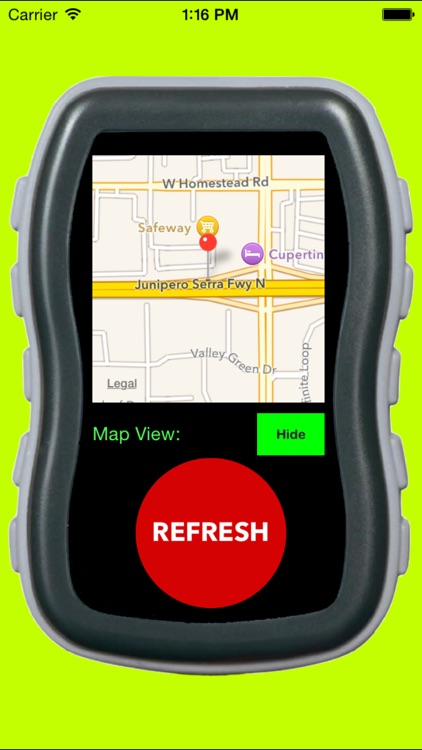 GPS Address Locator