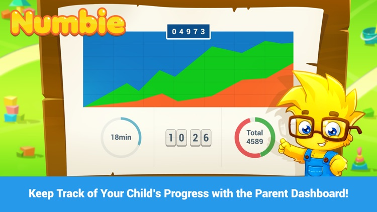 Math for Kindergarten and Pre-School Children with Numbie screenshot-2