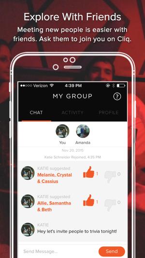 cliq dating app